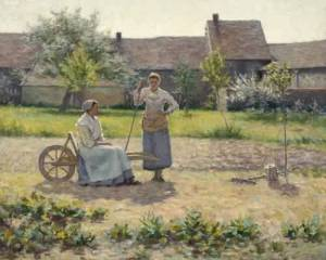 Ernest-Lee-Major-xx-Resting-Montigny-sur-Loing-1888