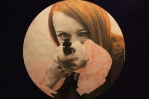 Niki de saint phalle fusil rond