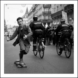Long Board Paris by serge klk
