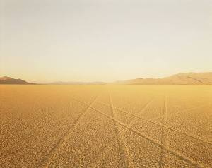 tracks-black-rock-desert-nevada-1989 by richard misrach