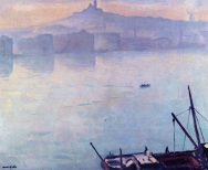 Marquet - The port of Marseille